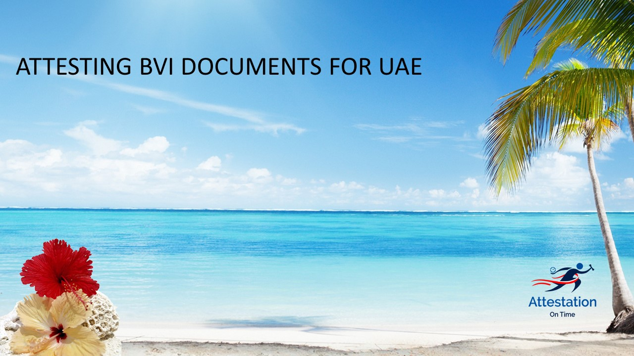 BVI Docs for UAE