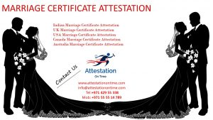 Attestation On Time - Attestation Marriage Certificate