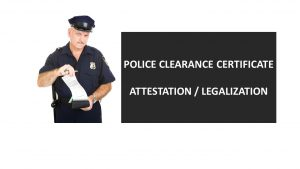 UK Police Clearance Certificate for use in UAE