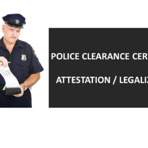 UK Police Clearance Certificate