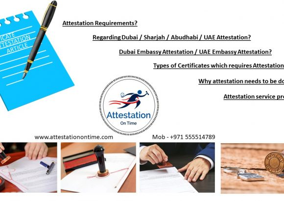 Certificate Attestation Article