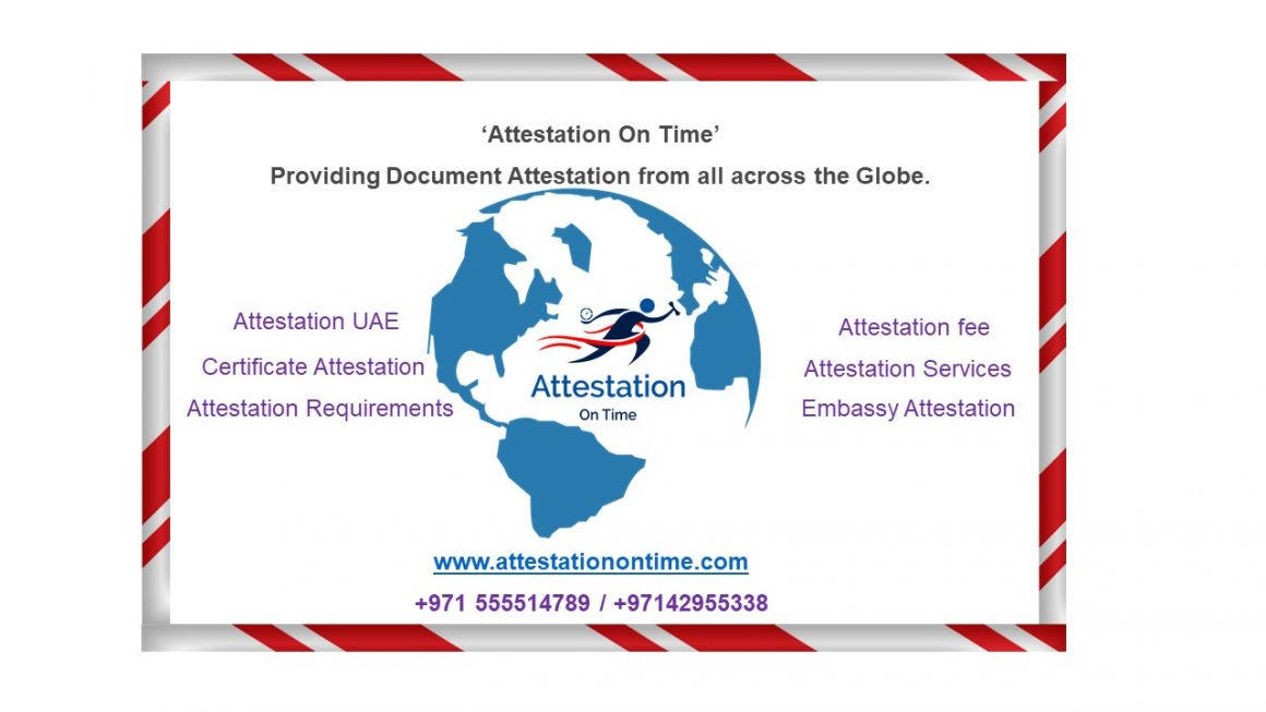 UAE Document Attestations