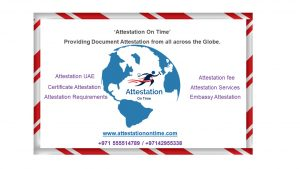 UAE Document Attestations