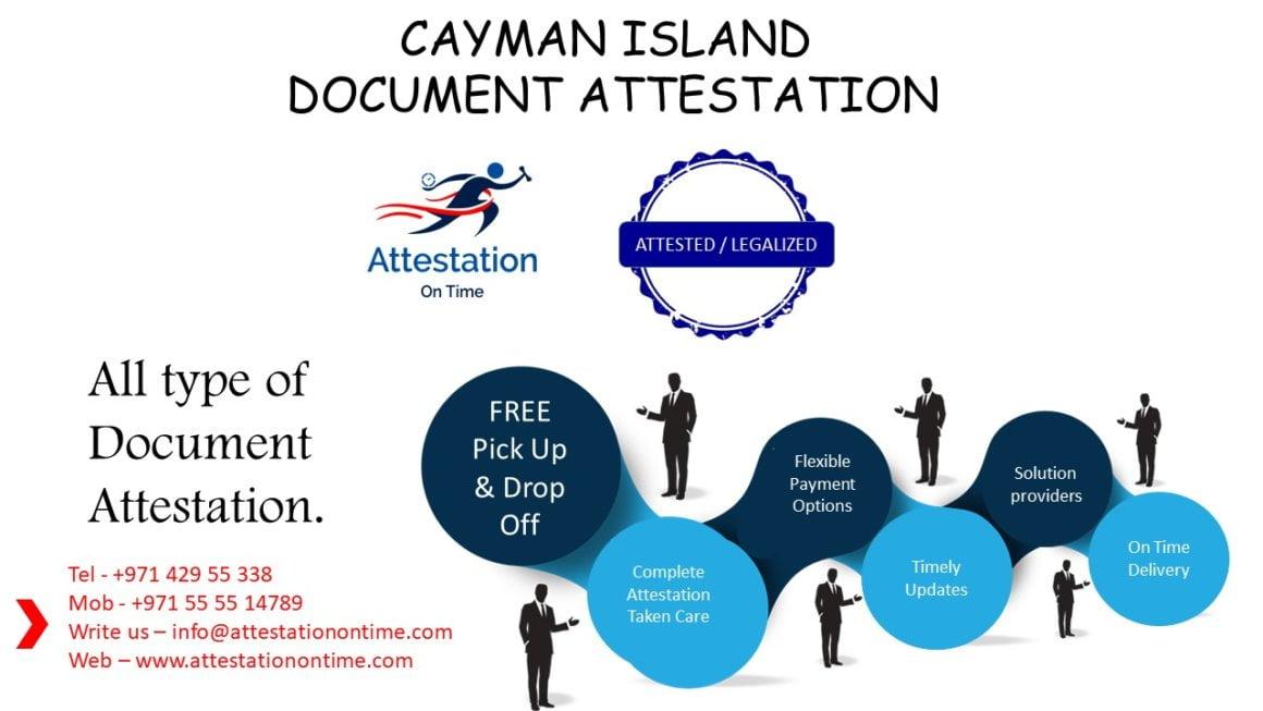 Cayman Island Document Attestation