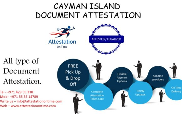 Cayman Island Document Attestation